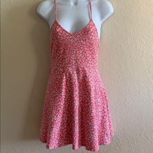 Pink daisy girly dress